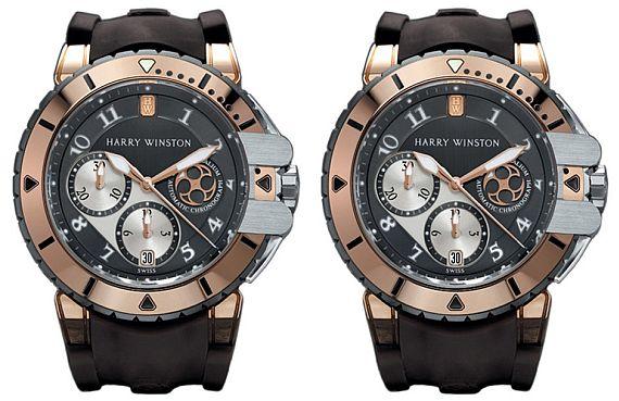 Harry Winston: Ocean Diver Chronograph